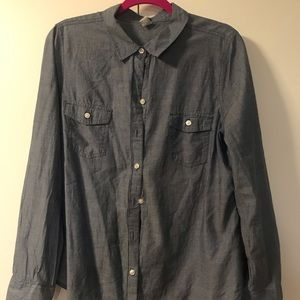 Old Navy Chambre Button Down Shirt